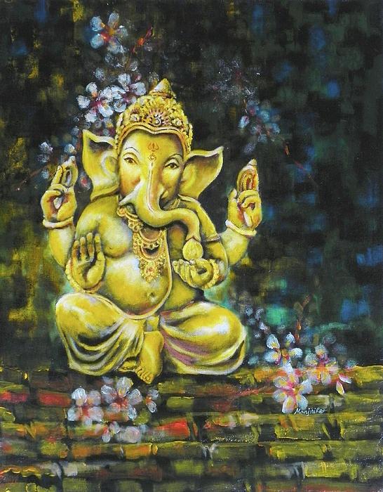 Ganesha painting. So beautiful.