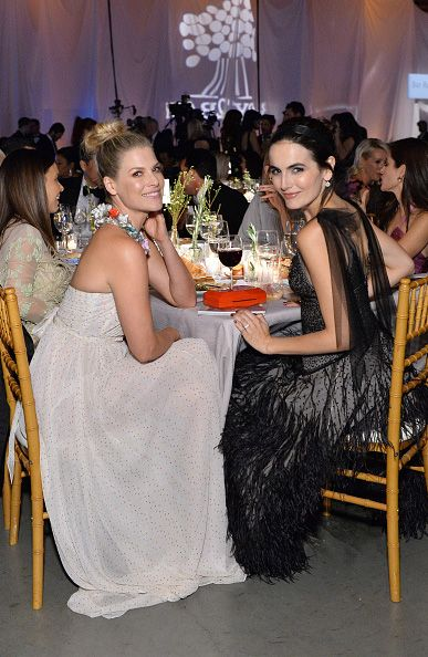 Ali Larter and Camilla Belle attend the Fifth Annual Baby2Baby Gala, Presented By John Paul Mitchell Systems on November 12, 2016