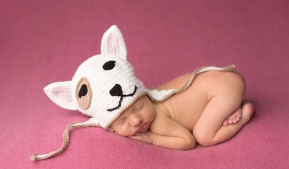 Handmade crochet Bullie Hat. Made to order by ElvieWithLove