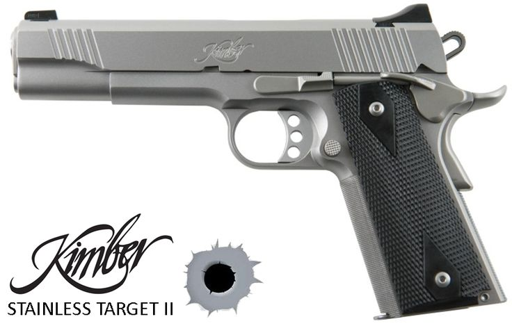 Kimber Stainless Target II 1911 9mm