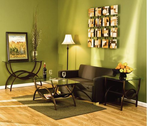 Sala verde perfect place pinterest salas verdes for Tecnicas de decoracion de interiores
