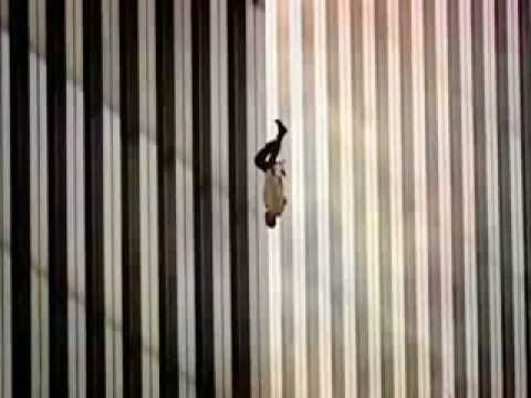 """The Falling Man, I think his final act of American courage, as if to say, """"YOU won't kill me on YOUR terms."""" 9/11 Documentary [1:11:27] ▶ 9/11 :"""
