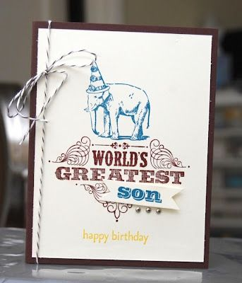 Stampin' Up! World's Greatest and You're Amazing
