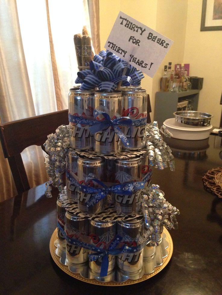 Joe S Birthday Quot Cake Quot Dirty Thirty Gift Ideas