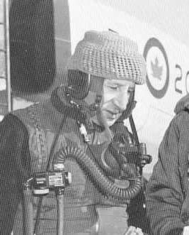 """Polish born Wladyslaw """"Spud"""" Potocki took over Arrow test flights following Jan Zurakowski's retirement from active test flying in Sept 1958. Following emigration to Canada in the early 1950s, Potocki was engaged as a test pilot with """"Avro Aircraft Canada Ltd"""". He accumulated the highest number of hours of the four pilots who flew the first five Arrow aircraft. It was recorded that he reached a speed of Mach 1.9 in one of the Arrows, but it was rumoured that he actually reached Mach 2.0."""