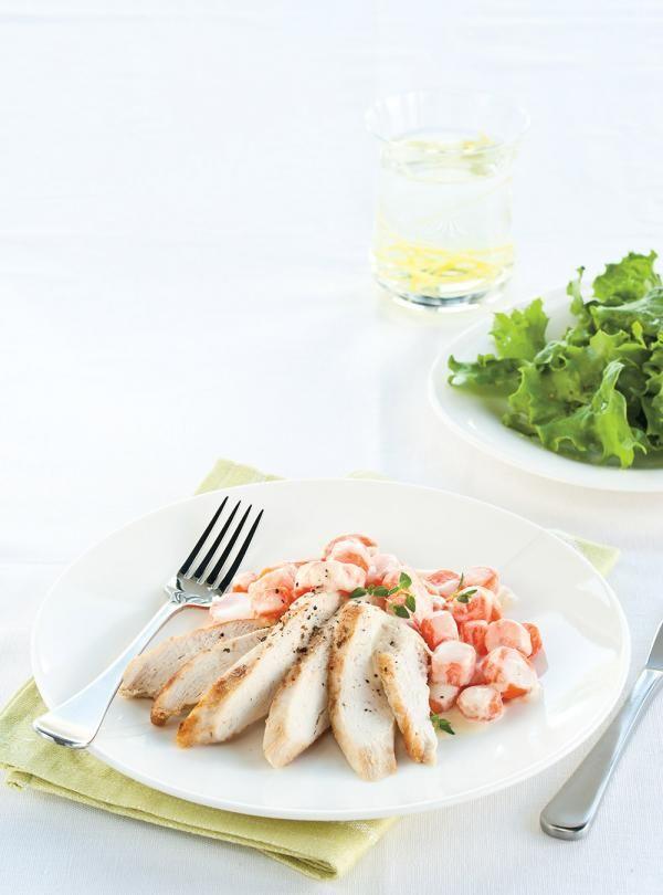 Recette de Ricardo de poulet aux carottes et au parmesan