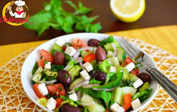 Resep Menu Utama, Turkish Salad, Club Masak