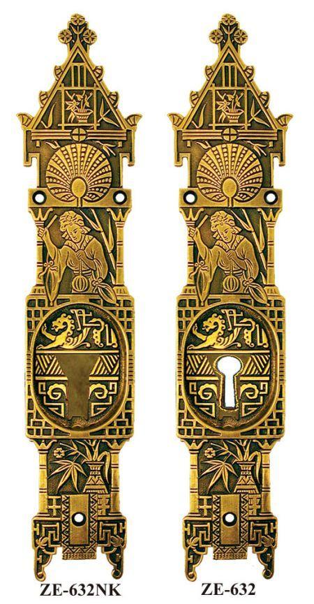 Admirable Oriental Door Handles Amp Ze 632 Antique Reproduction Door Handles Collection Olytizonderlifede