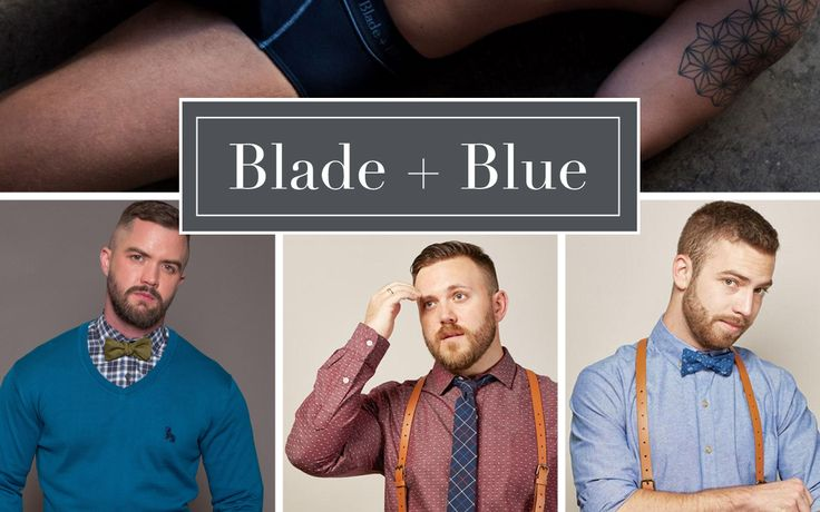 Dapper, Dapper, Whipper Snapper! Blade + Blue specializes in heritage inspired men's apparel. Their style is clean-cut, smart and a dollop of a winning look. A cross between How I Met Your Mother's Ted and Barney…the perfect balance in my humble opinion. #ItWasWorthIt #ProductCrush #Menswear @bladeandblue