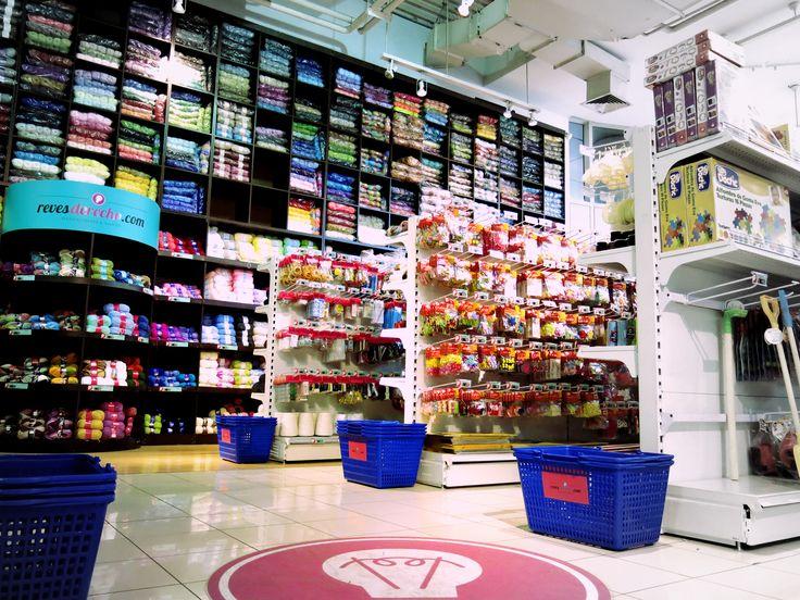 No olvides tu canasto ¡Lo necesitarás! ;) #supermercado de #manualidades #Providencia