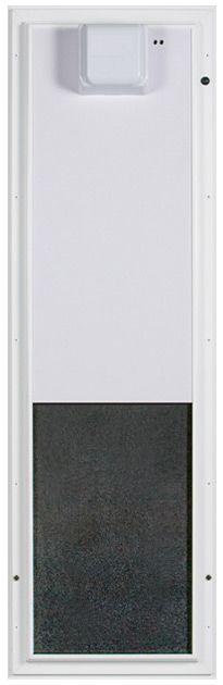 Plexidor Electronic Pet Door | RFID Automatic Dog Door up to 125 lbs