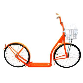 Amish-made scooter. I want this so much.: Orange, Amish Scooter, Amish Made Scooters, Bikes, Things, Design, Bicycle