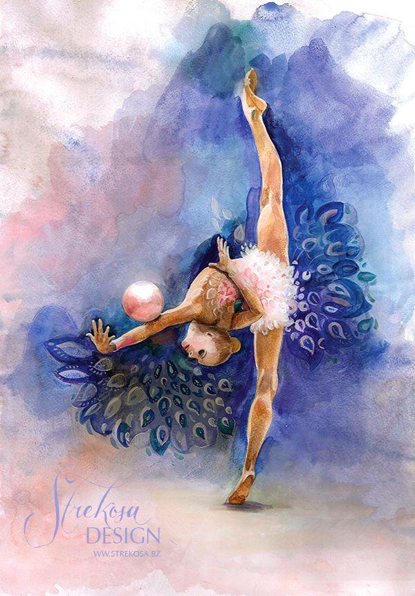 #rhythmicgymnastics #rhythmic #gymnastics #rg #gymnast #dance #art #painting #waterpaint