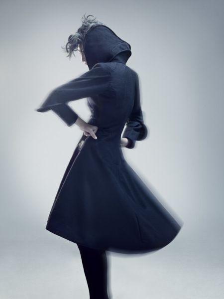 Flower Queen coat - Camilla Wellton