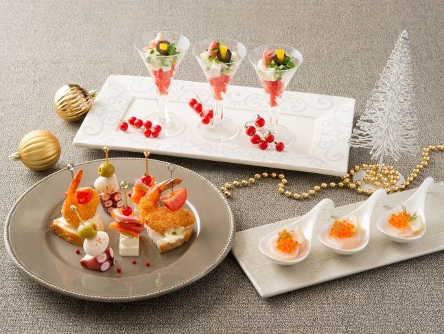 クリスマスパーティーに☆キッチンのあの道具でフィンガーフードをおしゃれに演出|みんなのハレワザ|ハレトピ|ハレナビ|サントリー