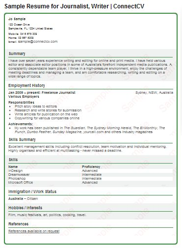 17 Best images about Resume and