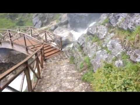 Καταρράκτες στα Τζουμέρκα - YouTube