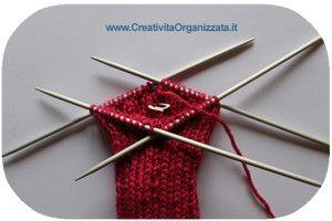 Calzettoni a maglia