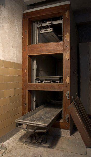 Penhurst state school's autopsy room.