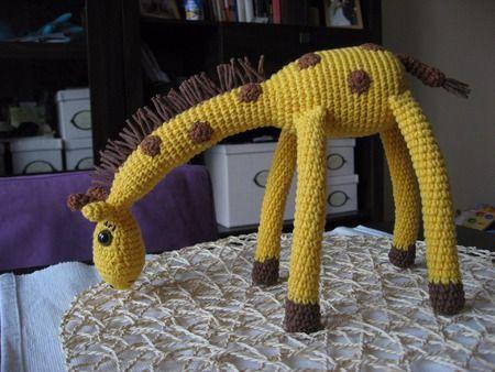 Crochet giraffe Pepina