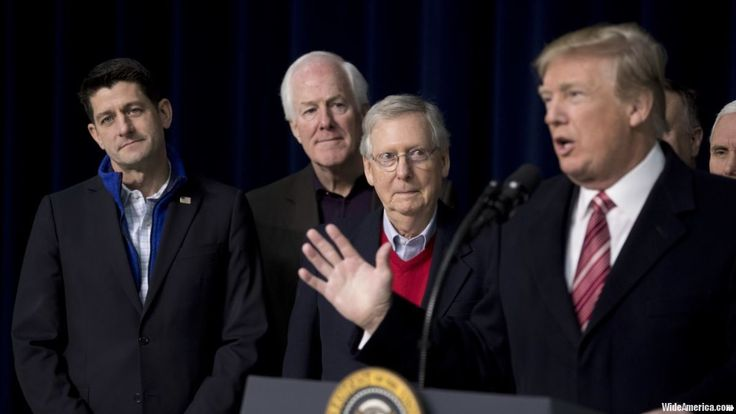 President Donald Trump says he's done campaigning for insurgents challenging incumbent Republican members of Congress. Trump told reporters after meeting GOP House and Senate leaders at Camp David on Saturday that he's planning a robust schedule of campaigning for the 2018 midterm elections and that includes involvement in the Republican primaries.  #USPolitics, #USA