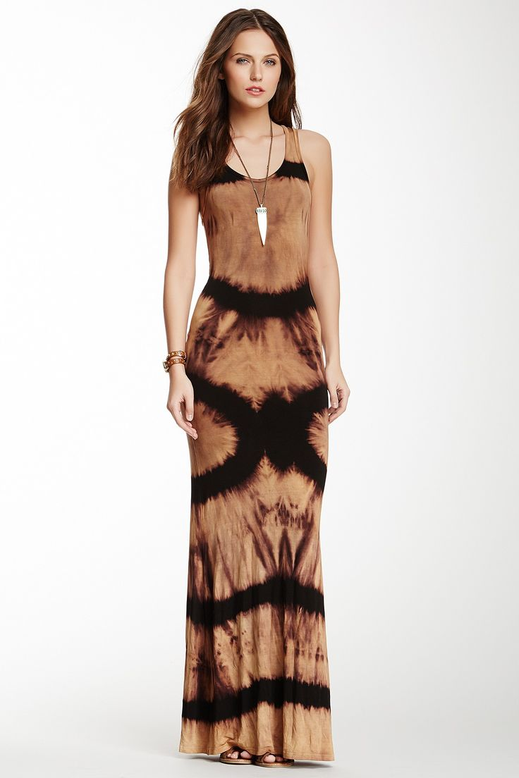 Ombre Maxi Ig Komee Make Me Over Pinterest Gown Hat Hair And Tie Dye