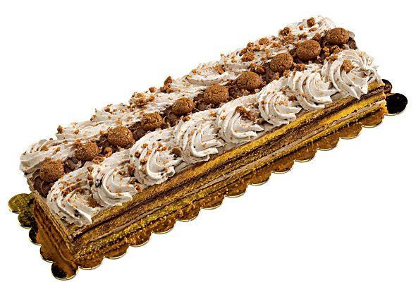 Torta Pierot (Amaretto) - Torte Da Buffet - Dolci Congelati Dolci Surgelati Torte Congelate Torte Surgelate Pasticceria Congelata Pasticceria Surgelata Italiana - Desserts Dolcefreddo Moralberti