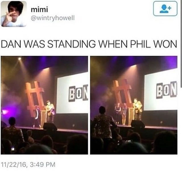 he got up so phil could get past him as he was on the other side of him in the seat row {watch the video}