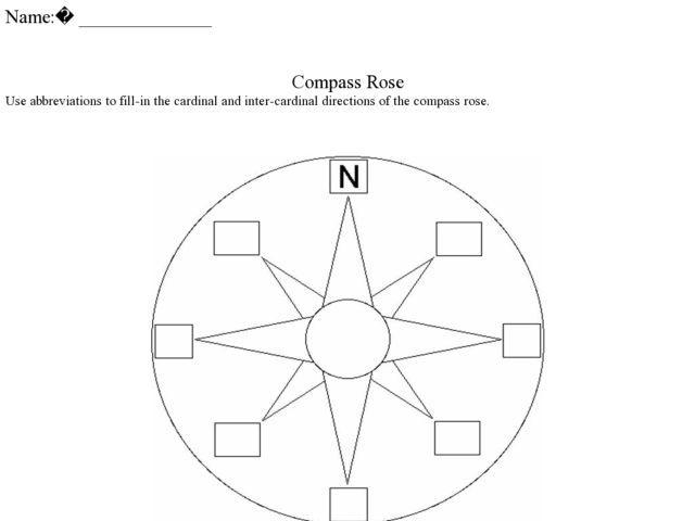 compass-rose-worksheet.jpg (640×480)