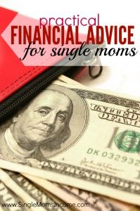 Getting by as a single mom is hard. How do you stretch your budget when there's nothing left to stretch?! Here's some practical financial advice from my experiences as a single mother.