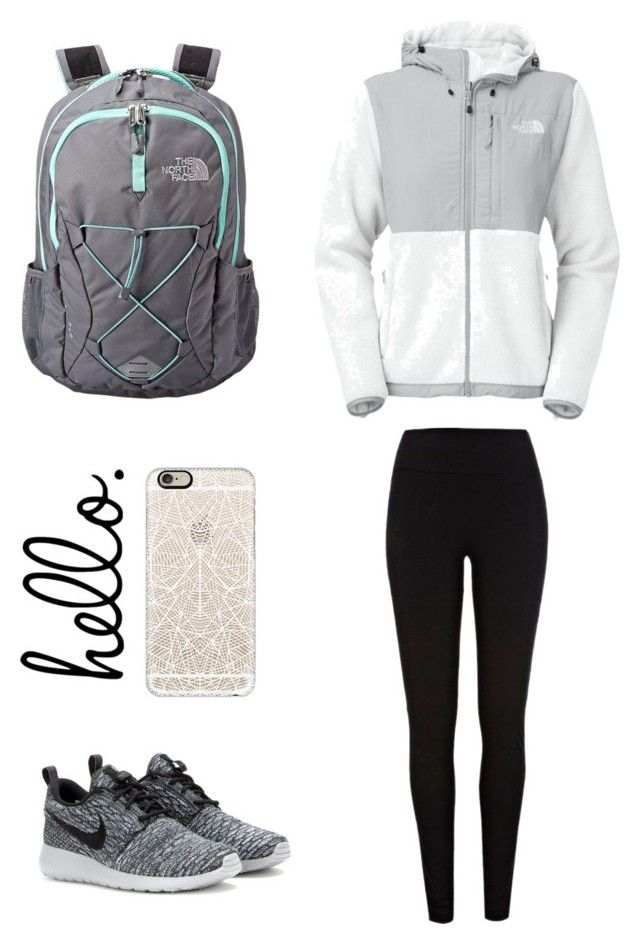 """Untitled #231"" by matilda131 ❤ liked on Polyvore featuring The North Face, NIKE, Casetify, women's clothing, women, female, woman, misses and juniors"