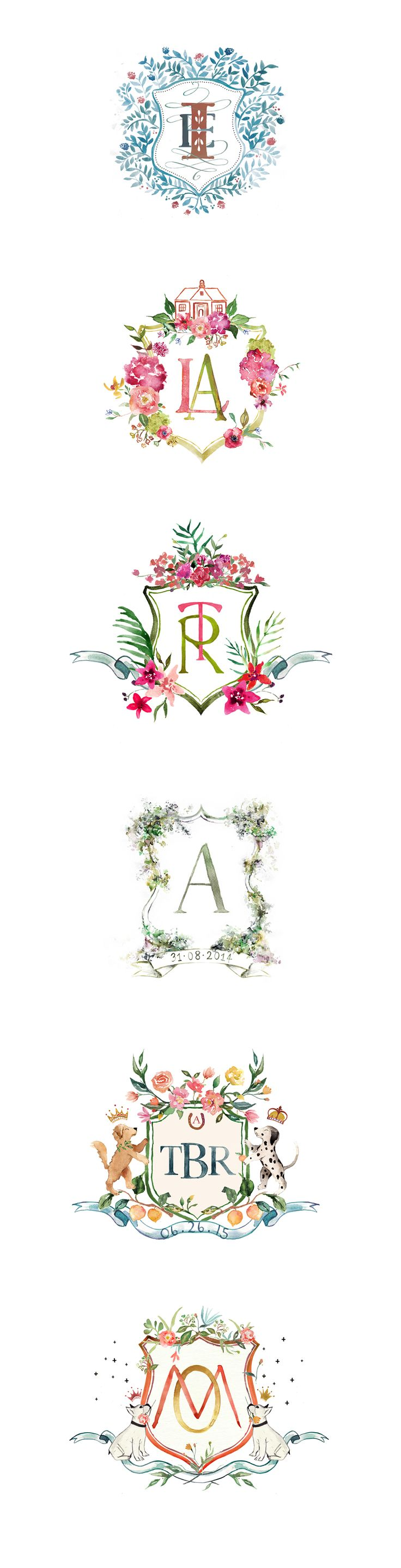 Noteworthy-Wedding crests on Behance