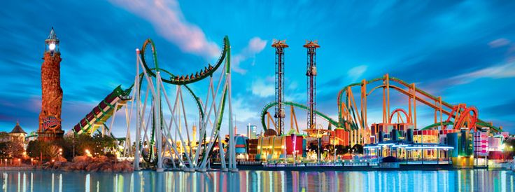 Universal's Islands of Adventure (Universal Orlando Resort, Florida) Great amusement park and fun family vacation.