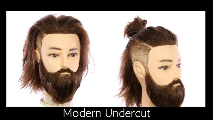 Modern Undercut Haircut Tutorial - TheSalonGuy