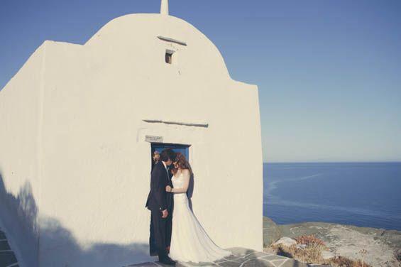 Gorgeous seaside wedding at Elies Resorts in Sifnos, Greece