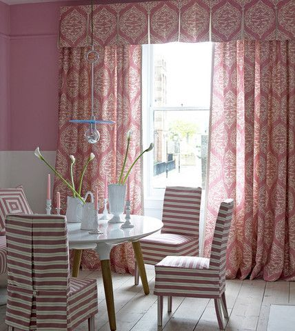 Find This Pin And More On Pink Drapes Decor