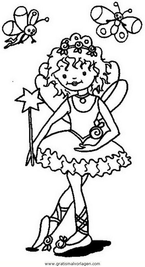Gratis Malvorlage Prinzessin Lillifee 31 In Comic Trickfilmfiguren