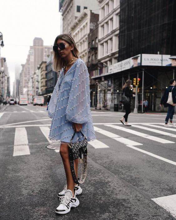 15 Long Sleeve Dresses for Fall 7