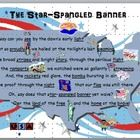 This PowerPoint is designed as a visual aide to assist when teaching The Star-Spangled Banner. The first slide is graphic, with select words underl...
