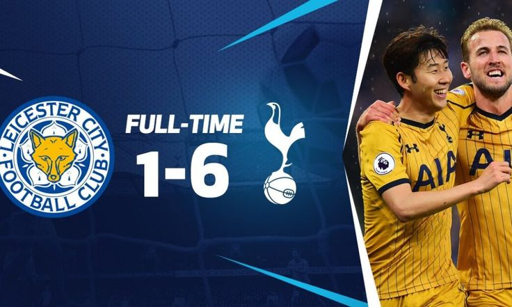Hajar Leicester 1-6, Tottenham Pesta Gol di King Power Stadium