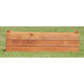 Large Wood Planter Trough