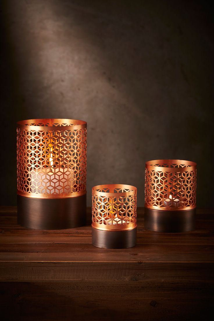Honeycomb Votives- Small, Med, Large. Sold individually or as a Set or 3