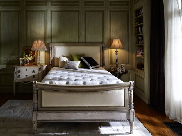Share our passion for luxury with the timeless elegance of Stearns Foster.  A Master Bedroom
