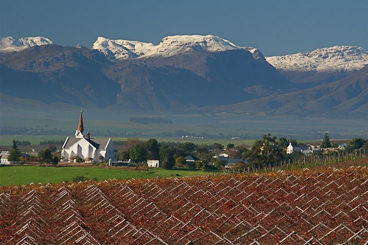 Riebeek Kasteel - about an hour's drive from Cape Town - South Africa. beautiful…