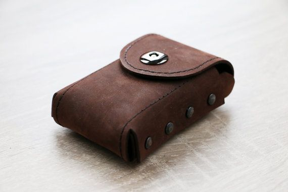 Leather Cigarette Case by PackCases on Etsy