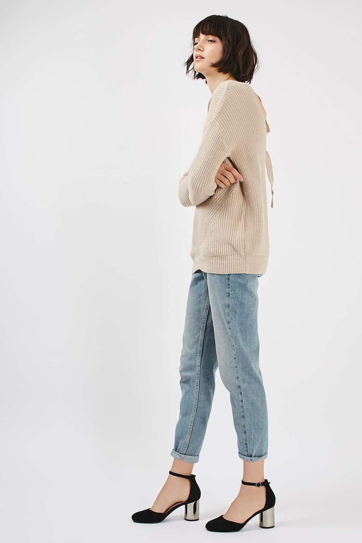 PETITE MOTO Bleach Mom Jeans - Jeans - Clothing - Topshop Europe