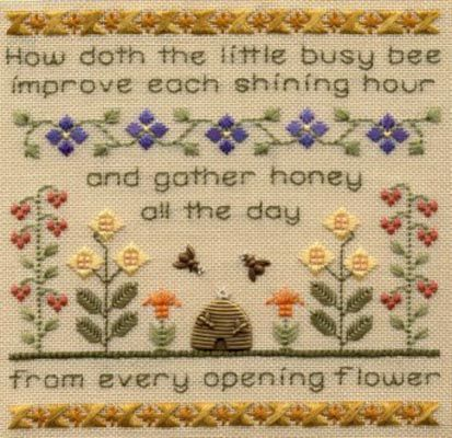 ~ How Doth The Little Busy Bee Improve Each Shining Hour and Gather Honey All the Day From Every Opening Flower ~