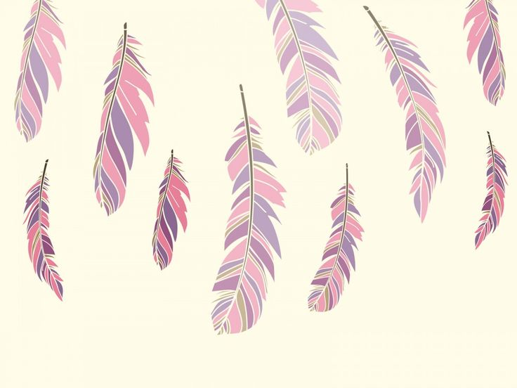 Download Free Colour Feathers Powerpoint Backgrounds Pptgrounds