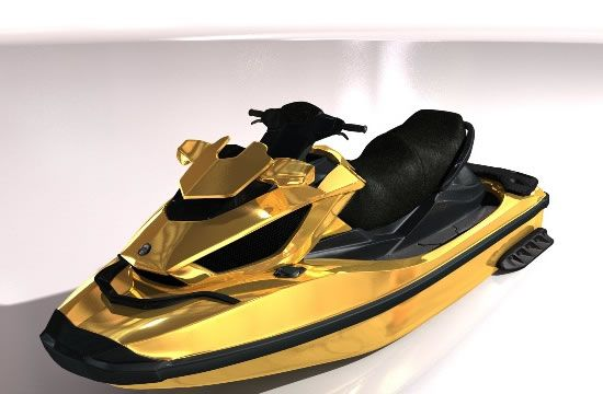Jet skis now turn into luxurious modes of water-sports with these new luxury toys from the stables of Superyacht Tenders and Toys and Venom Design. Modified just enough to suit a client's creature comfort-needs, these jet skis come with luxury seats and are being modified to match the look and theme of the yacht they will be used from, complete with custom paint jobs. Capable of touching speeds of up to 70mph, these overhauled Seadoo RXT 260 jet-skis come with teak decks and Fendi duvet…