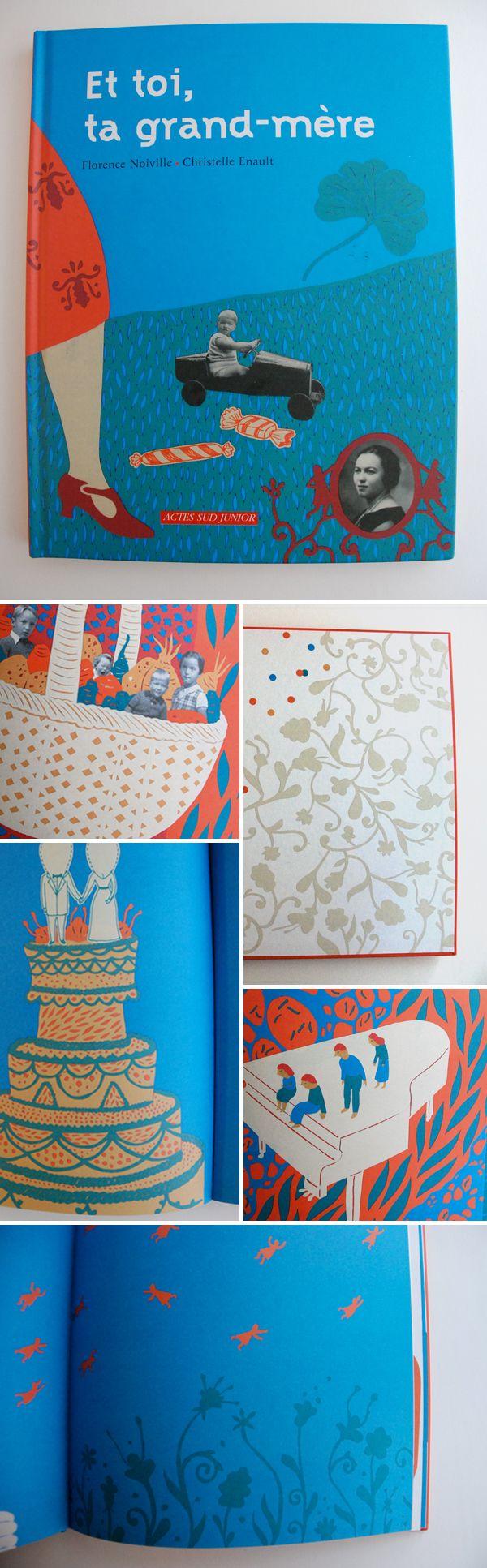 Quelques images deChristelle Enault, tout en papier découpé.    Nice book illustrated by Christelle Enault, all in papercut.